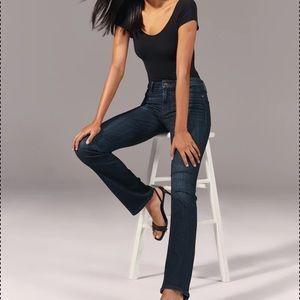 A&F Jeans Emma Boot-Cut Perfect Stretch Size 6L